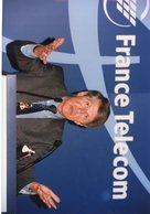 MICHEL BON PDG DE FRANCE TELECOM  EN 1997 - Places