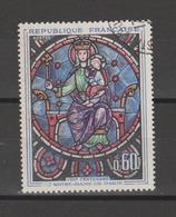FRANCE / 1964 / Y&T N° 1419 : Vitrail Notre-Dame De Paris - Choisi - Cachet Rond - Frankreich