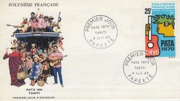 Enveloppe  1er Jour  POLYNESIE   PATA    1969 - FDC