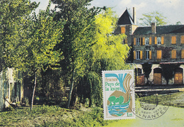 Carte  Maximum  1er  Jour   FRANCE     Région  :   PAYS  DE  LA  LOIRE      NANTES    1975 - Cartes-Maximum
