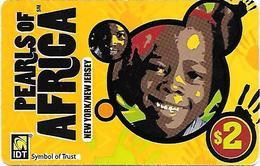 IDT: Pearls Of Africa - Vereinigte Staaten