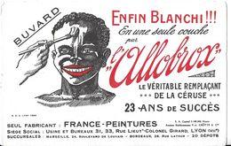 BUVARD BLOTTING PAPER PEINTURE ENFIN BLANCHI L'ALLOBROX LYON 69007 - Paints
