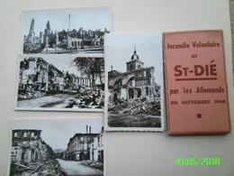 Incendie Volontaire De St-Dié - War, Military
