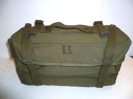 ANCIEN SAC D'ORIGINE US 1945 MOD 45 WW2 PAQUETAGE COMBAT GI AMERICAIN JEEP ETAT SUP - Equipment