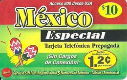 IDT: México - Vereinigte Staaten