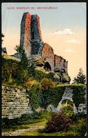 B3641 - Burg Girbaden Ruine - Feldpost - 1. WK WW - XIX. Ersatz Div. 201 - Emil Hartmann Strassbourg - Châteaux