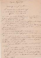 Dépêche Télégraphique Verdun Guerre 1870 /Compte-rendu Combat Contre Prusse / Prince Frédéric Charles / Général Bataille - Unclassified