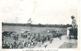 N°62037 -cpa Deauvjille -le Champ D'aviation- - Aerodromes