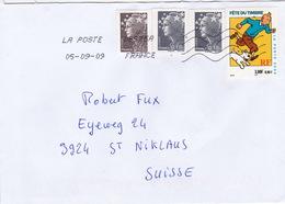 Brief In Die Schweiz (br3633) - France