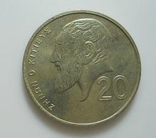 Cyprus 20 Cents 1992 - Cyprus