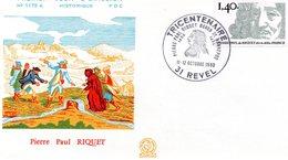 Revel 1980 Pierre Paul Riquet - FDC
