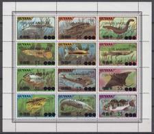 Guyana 06.12.1983 Mi # 1055-66 Zd-Bogen 1984 Los Angeles Summer Olympics MNH OG RARE - Verano 1984: Los Angeles
