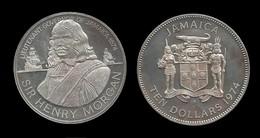 JAMAIQUE . Sir Henry MORGAN . 10 $ 1974 . - Jamaique