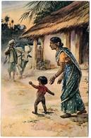 Hindus Signed Hardy - Inde