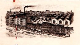 MASSARDIER   Distillerie    SAINT ETIENNE      Belle Illustration  Quina Excelsior - Lettres De Change