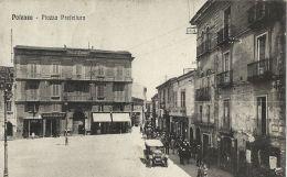 POTENZA PIAZZA PREFETTURA 1923 ANIMATA AUTO D'EPOCA OLDTIMER CAR - Potenza