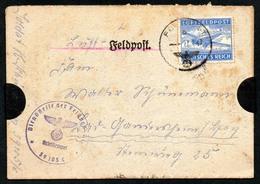 B3650 - Feldpost Brief Mit Inhalt - 2. WK WW - Nach Gandersheim - Luftfeldpost - Guerre 1939-45