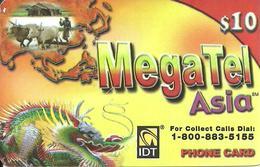 IDT:  UTA MegaTel - Asia - Vereinigte Staaten