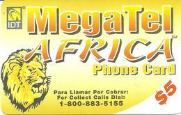IDT:  UTA MegaTel - Africa - Sonstige