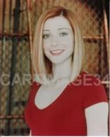 Alyson Hannigan Photo Couleur 20 X 25 CM BUFFY CONTRE LES VAMPIRES - Reproductions