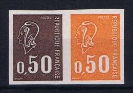 France :  Yv 1664 Non Dentelé, MNH/**  Double Essais De Couleur  Druckprobe,épreuve,prueb A,prova,proeven - Frankreich