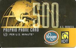 IDT:  Kroger - United States