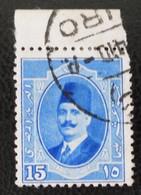 ROYAUME - ROI FOUAD 1ER 1923/24 - SUPERBE OBLITERATION SUR HAUT DE FEUILLE - YT 88 - MI 88 - Egypt