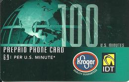 IDT:  Kroger - Vereinigte Staaten