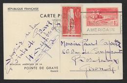 Pointe De Grave 1 Fr - Postal Stamped Stationery
