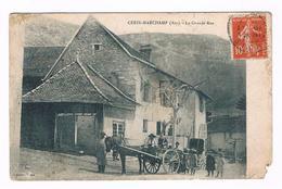 D  01  - Cpa  - CERIN-MARCHAMP - LA  GRANDE  RUE   -  5564  §§§ - France