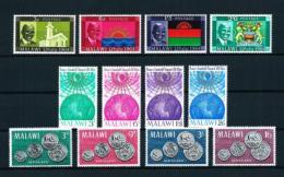 Malawi  Nº Yvert  14/17-18/21-22/5  En Nuevo - Malawi (1964-...)