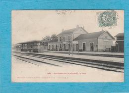 Brienne-le-Château, 1905. - La Gare - Les Quais. - Autres Communes