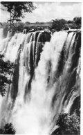 ZIMBABWE (Southern Rhodesia) RPPC -  Eastern Cataract Victoria Falls -  Rhodesia Railways Postcard - Zimbabwe