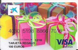 TARJETA REGALO 100EUROS CAIXABANK - Tarjetas Telefónicas