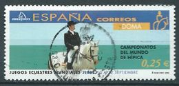 ESPAGNE SPANIEN SPAIN ESPAÑA 2002 FROM HORSES FESTIVAL: DOMA ED 3900 YV 3465 MI 3745 SG 3870 SC 3167C - 1931-Hoy: 2ª República - ... Juan Carlos I