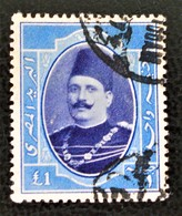 ROYAUME - ROI FOUAD 1ER 1923/24 - OBLITERE - YT 93 - MI 93 - Egypt