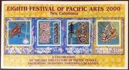 Norfolk Islands 2000 Yvertn° Bloc 40 *** MNH Cote 12 Euro Festival Of Pacific Arts - Ile Norfolk