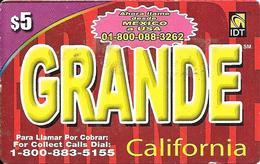 IDT: Grande California 02.2007 - Sonstige