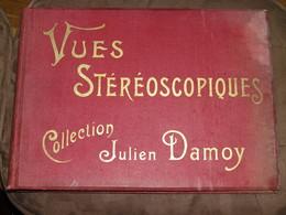 Album Collecteur  CPA Carte Postale Ancienne - Vue STEREO Publicité CHOCOLAT Julien DAMOY / VIDE Intérieur TBE - Sonstige