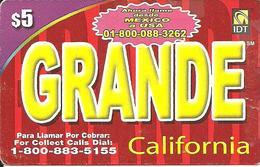 IDT: Grande California 01.2007 - Sonstige