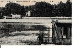 94=ALFORT.. Le Barrage Et La Maison De L'Eclusier - Maisons Alfort