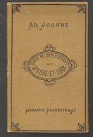 Eure Et Loir (28)  Adolphe Joanne :carte Du Département D'Eure Et Loir 1884 .1/487.000. 1891(PPP8632) - Topographical Maps