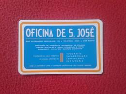 CALENDARIO DE BOLSILLO DE MANO PORTUGAL PORTUGUESE CALENDAR 1988 OFICINA DE S. SAN JOSÉ PORTO OPORTO VER FOTO/S Y DESCRI - Calendarios