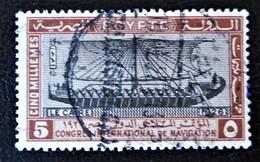 ROYAUME - CONGRES INTERNATIONAL DE LA NAVIGATION AU CAIRE 1926 - OBLITERE - YT 108 - MI 109 - Egypt
