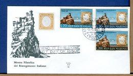 SAN MARINO - FDC  ALA - 1961 - RISORGIMENTO ITALIANO - FDC