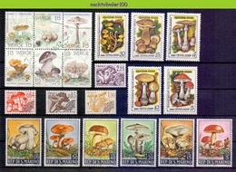 Ndp053 FLORA * SPECIAL * PADDENSTOELEN MUSHROOMS PILZE CHAMPIGNONS SETAS FUNGHI JERSEY ONG/MH - Mushrooms