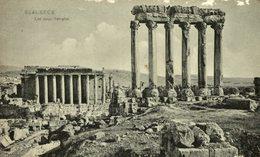 BAALBECK LES DEUX TEMPLES   TURQUIE TURQUIA - Turquia