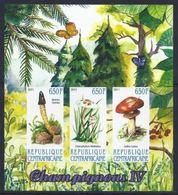Centrafrique 2011  Mushroom / Champignons Imperf - Champignons