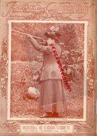 JOURNAL DES DEMOISELLES-LA COMTESSE JEAN DE CASTELLANE A LA CHASSE- FRANZ LISZT-1911- PENDANT LE BAL - Chasse/Pêche