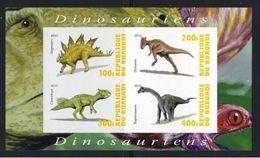 Burundi  2010 Dinosaures Dinosaurs  Imperf - Prehistory